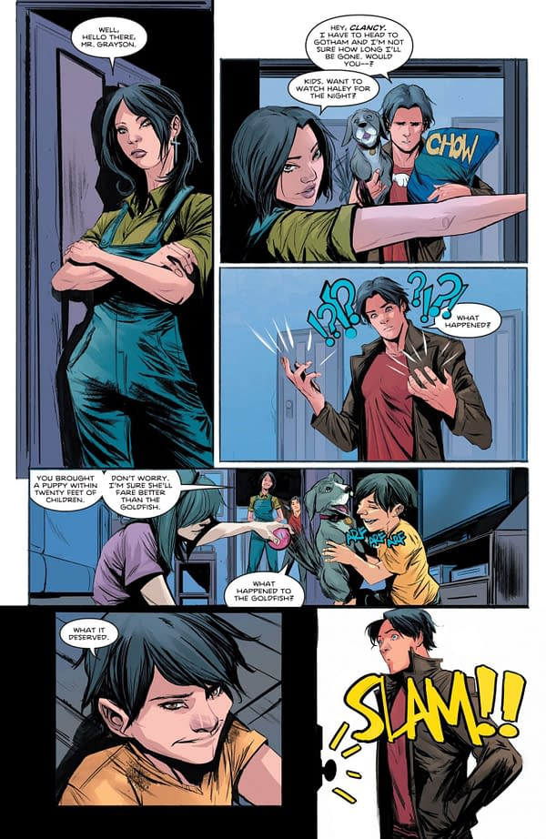 Interior preview page from NIGHTWING #84 CVR A BRUNO REDONDO (FEAR STATE)