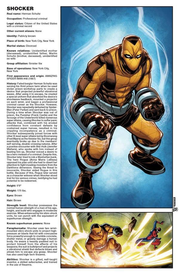 Cover image for AMAZING SPIDER-MAN #73 BALDEON HANDBOOK VAR SINW