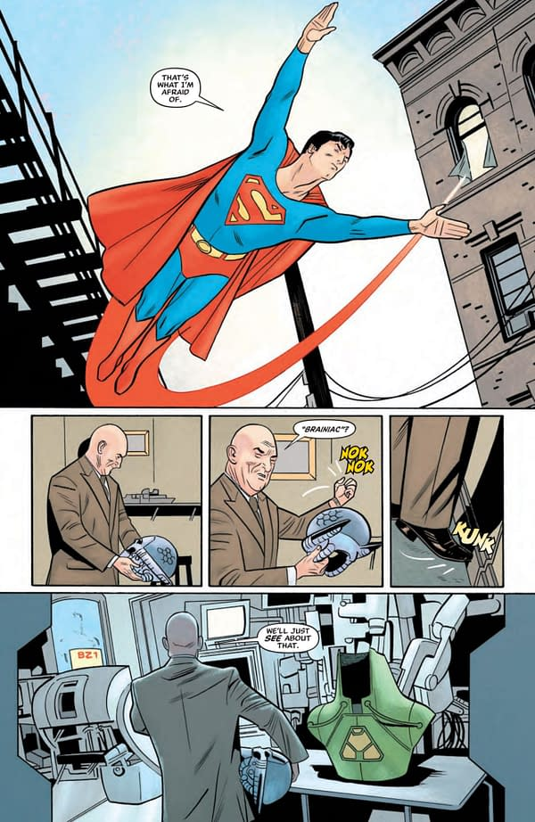 Interior preview page from SUPERMAN 78 #2 (OF 6) CVR A BEN OLIVER