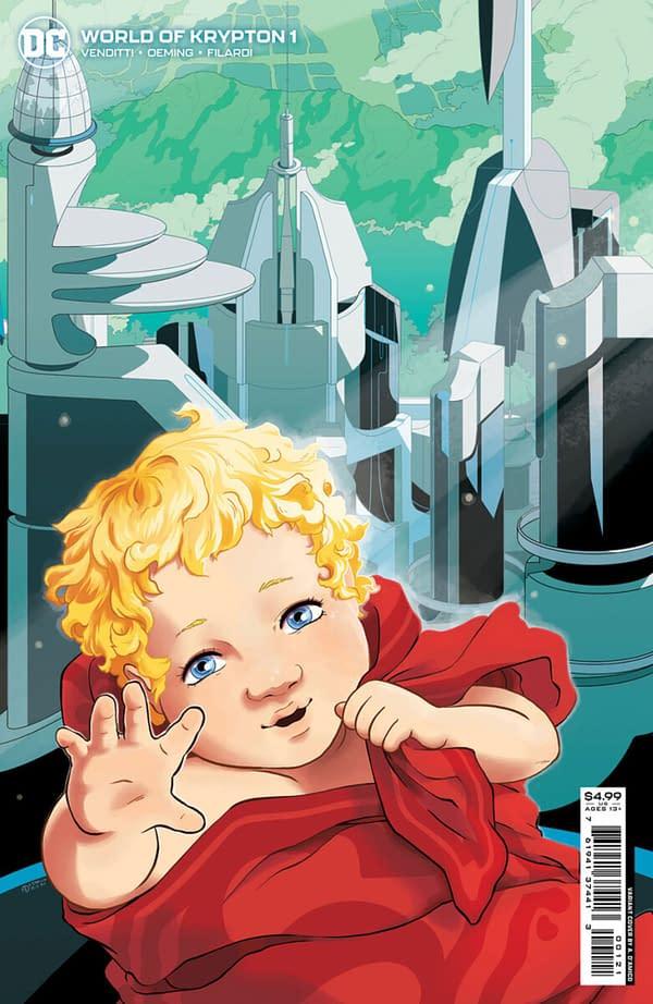 Robert Venditti & Michael Avon Oeming Launch World Of Krypton #1