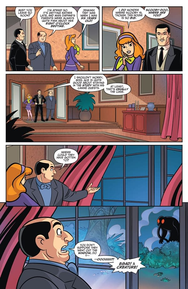 Interior preview page from BATMAN & SCOOBY-DOO MYSTERIES #7 (OF 12)