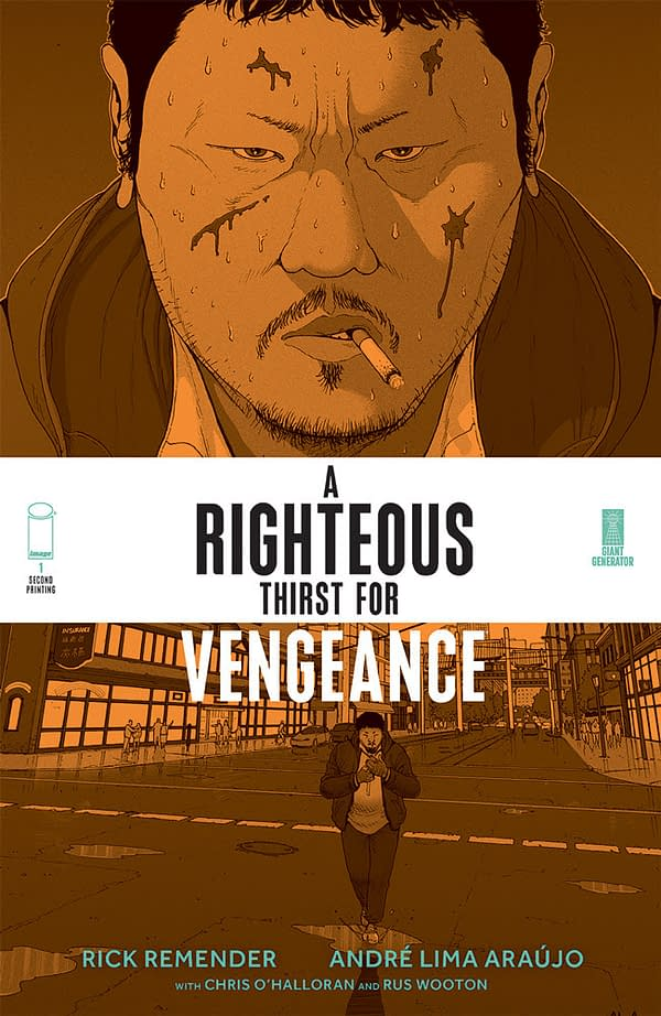 Image Announces Second Printing for A Righteous Thirst for Vengeance