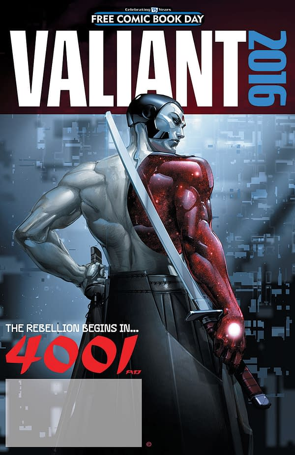 VALIANT 4001 AD FCBD SPECIAL_COVER_CRAIN