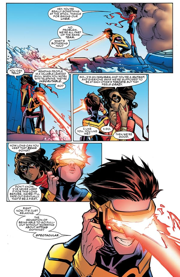 Art by Humberto Ramos, Victor Olazaba and Edgar Delgado
