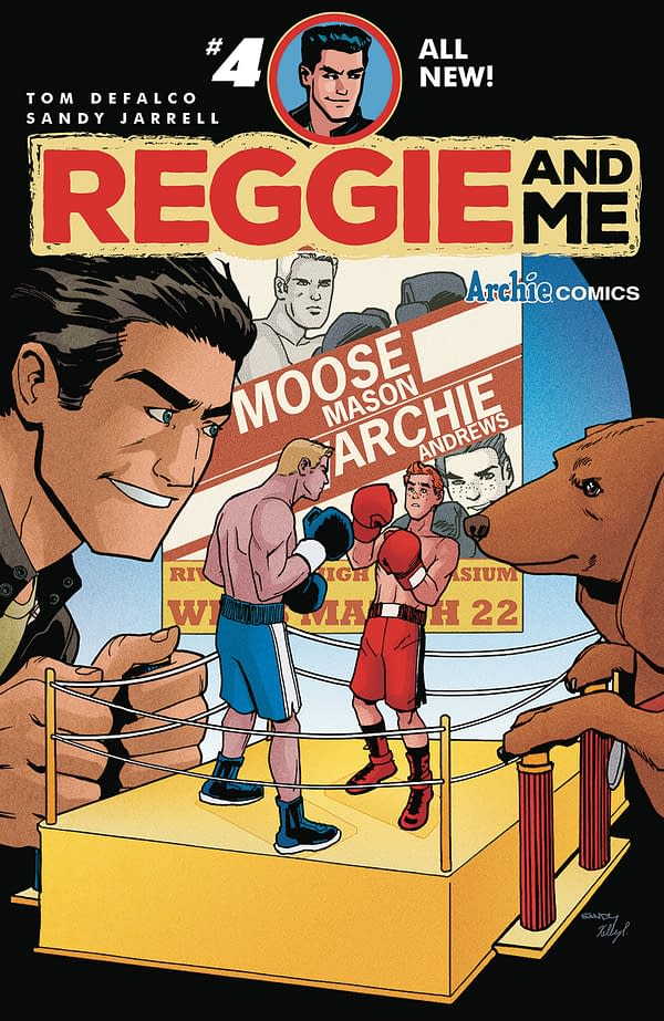 Reggie Is A Terrible Cupid – Reggie And Me #4