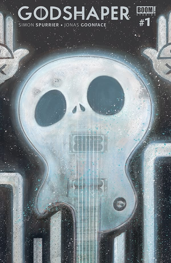 Godshaper #1 variant cover, by Sonny Liew.