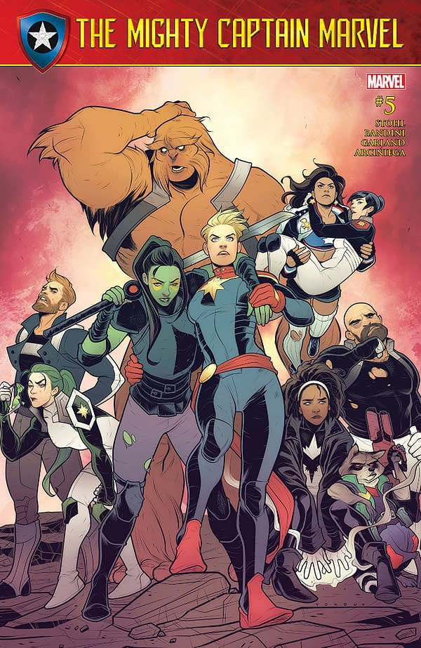 The Mighty Captain Marvel #5 - Cover
