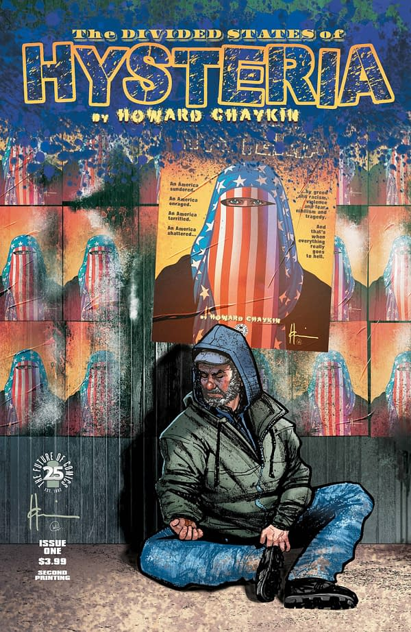 Howard Chaykin's Divided States Of Hysteria #1