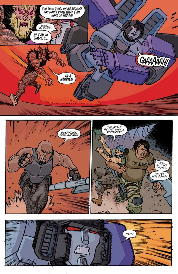 G.I. Joe #7 Preview: Transformers And Soldiers And Bears, Oh My!
