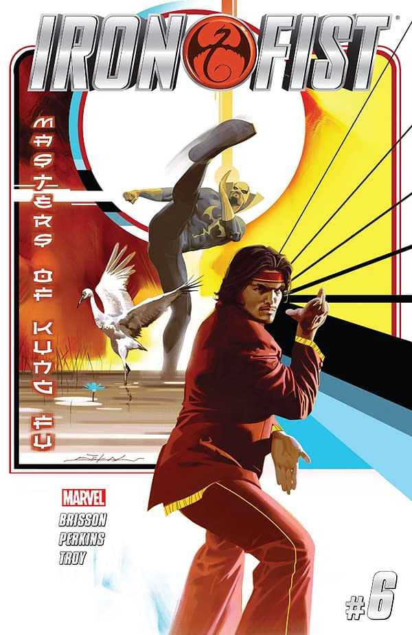 Iron Fist #6 Review- The Living Weapon And The Master Of Kung Fu