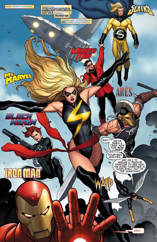 Wasp and the Mighty Avengers