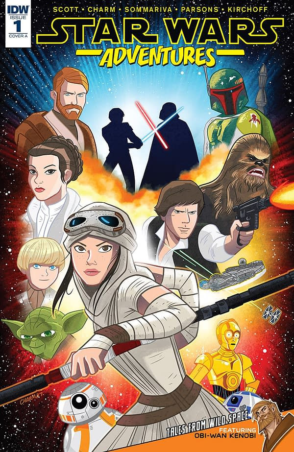 Star Wars Adventures Isn't Being Sold In The UK In Comic Stores – Just On ComiXology