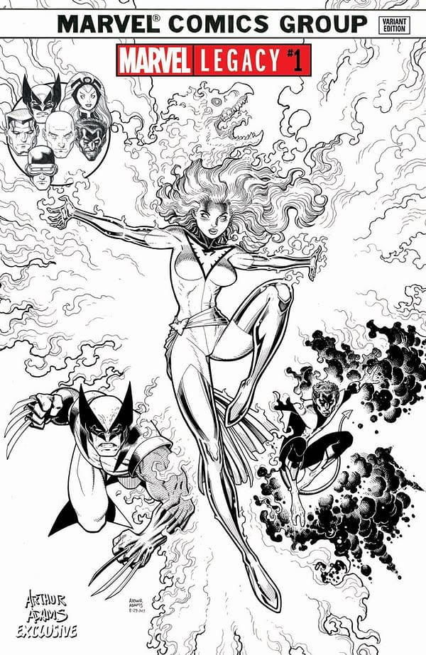 Art Adams Draws Jean Grey For A Marvel Legacy #1 Variant Cover