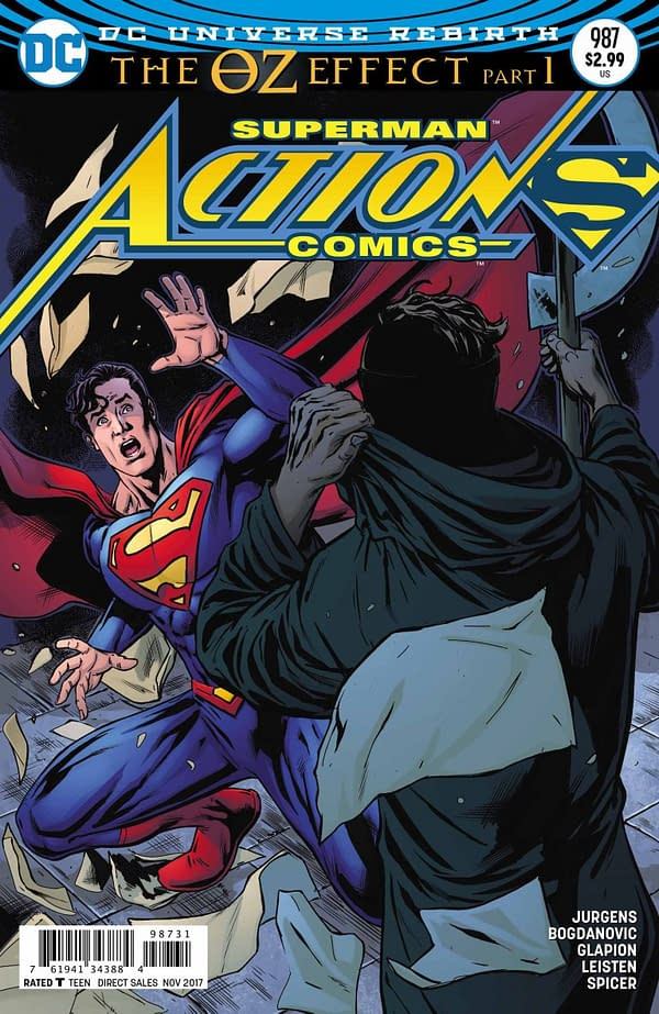 Tomorrow's Action Comics #987 Reveals The Identity Of Mr. Oz – But Will You Believe It?