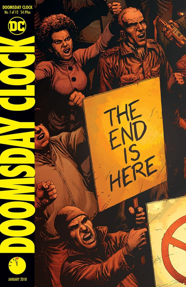 Doomsday Clock 1 Review A Strong Gorgeous Piece Of Set Dressing