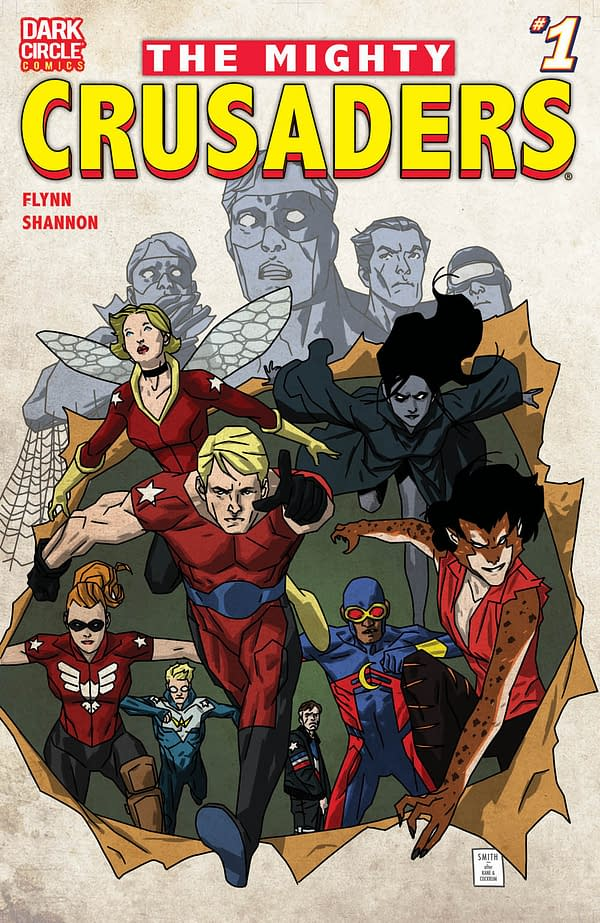 The Mighty Crusaders Lead The Archie Comics December 2017 Solicitations