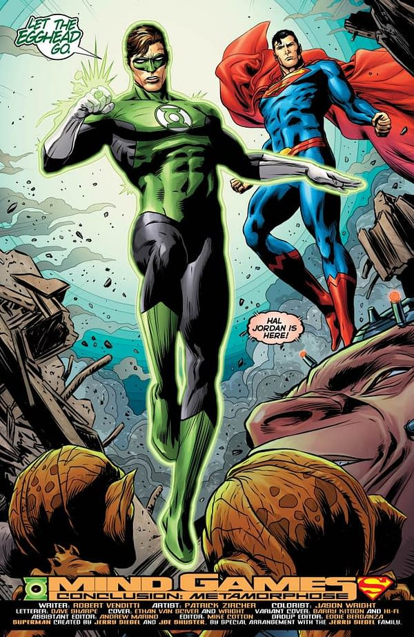 Hal Jordan and the Green Lantern Corps #31 art by Patrick Zircher and Jason Wright