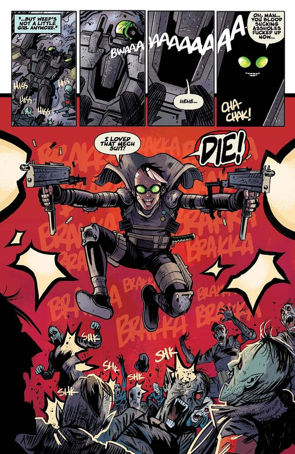 Open The Vault For Hallowe'en: Your First Look Inside Donny Cates And Dylan Burnett's Reactor #1