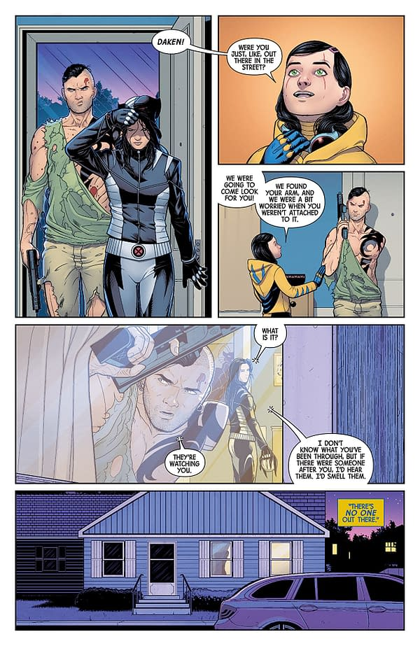 All-New Wolverine #27 art by Juann Cabal and Nolan Woodard