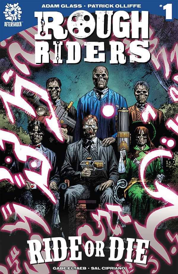Rough Riders: Ride or Die, Cold War, And Animosity Coloring Book- Aftershock February 2018 Solicits