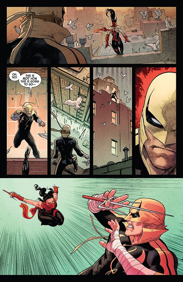 Defenders #7 art by David Marquez, Justin Ponsor, and Paul Mounts