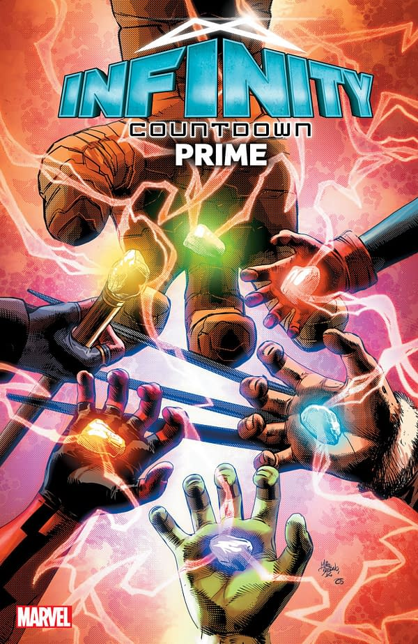 Gerry Duggan and Aaron Kuder to Disassemble the Guardians of the Galaxy in Infinity Countdown