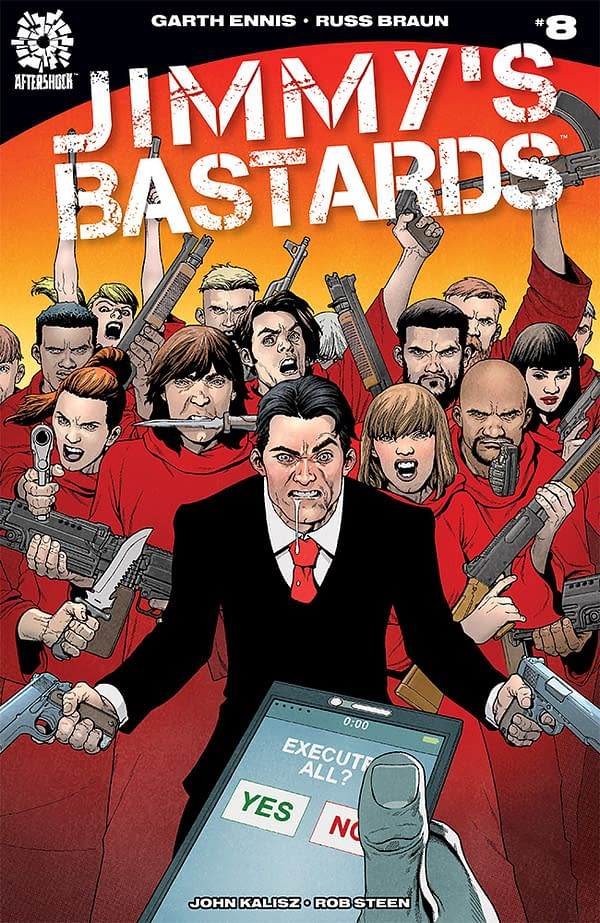 Betrothed Begins and Jimmy's Bastards Enters its Finale: Aftershock March 2018 Solicits
