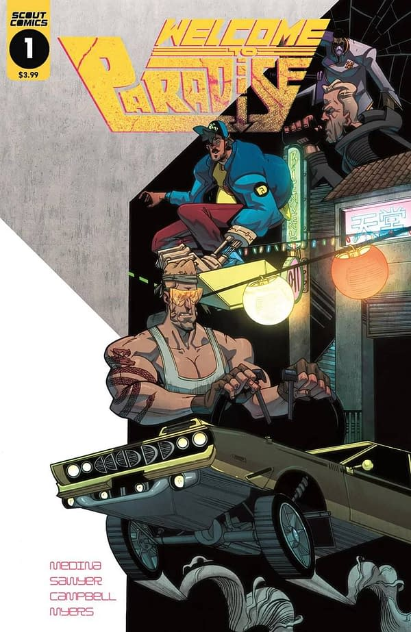 Welcome to Paradise: New Series from Scout Comics March 2018 Solicits