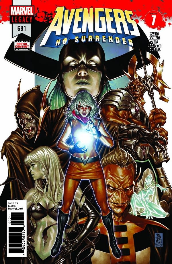 Ch-Ch-Changes for Kim Jacinto's Arc of Avengers: No Surrender, and Other Marvel Titles