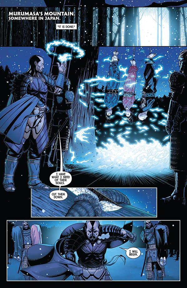 All-New Wolverine #29 art by Juann Cabal and Nolan Woodard