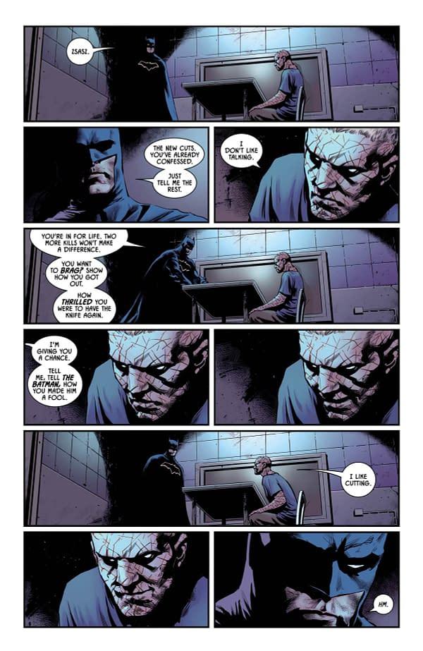 Batman #38 art by Travis Moore and Giulia Brusco