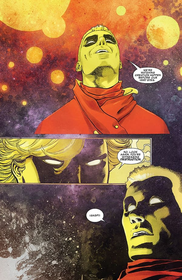 Guardains of the Galaxy #150 art by Marcus To, Aaron Kuder (pictured), and Ian Herring (pictured)