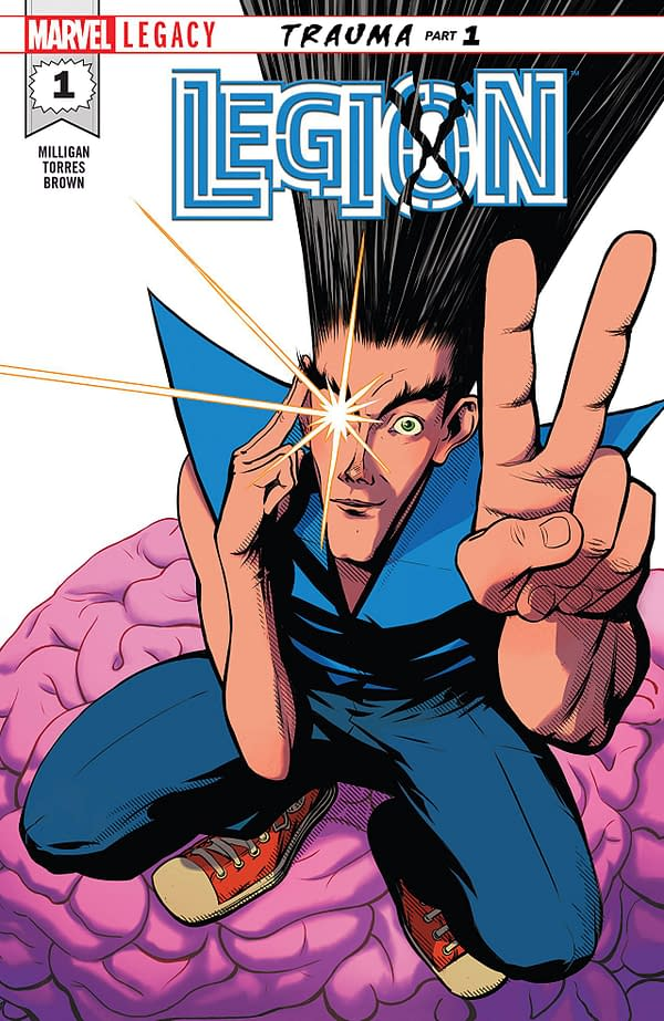 X-Men: Bland Design – Legion #1 is a Comic Starring a Character Who is in a TV Show
