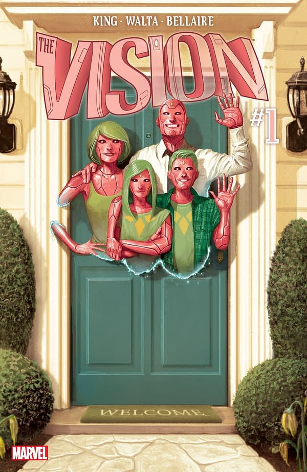 DC Editor Jamie Rich Sent Tom King's Wife a Vision TPB Because Marvel Wouldn't