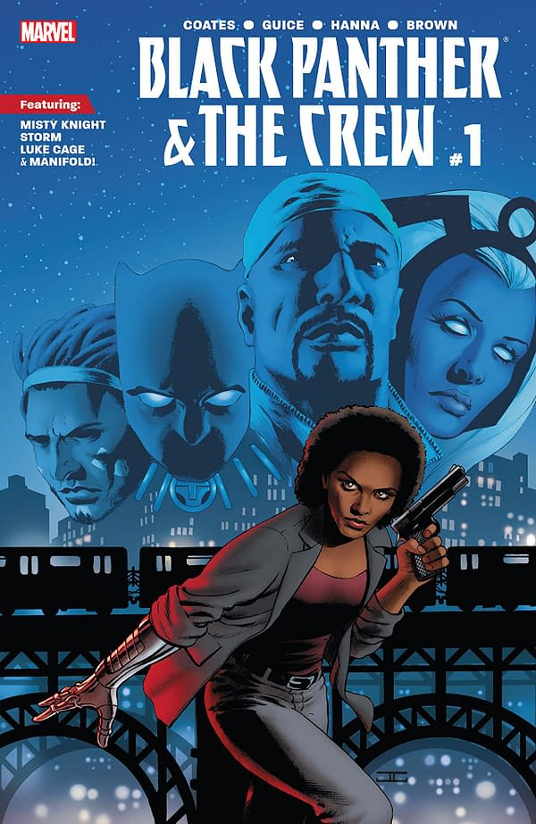 Black Panther and the Crew #1 cover by John Cassaday