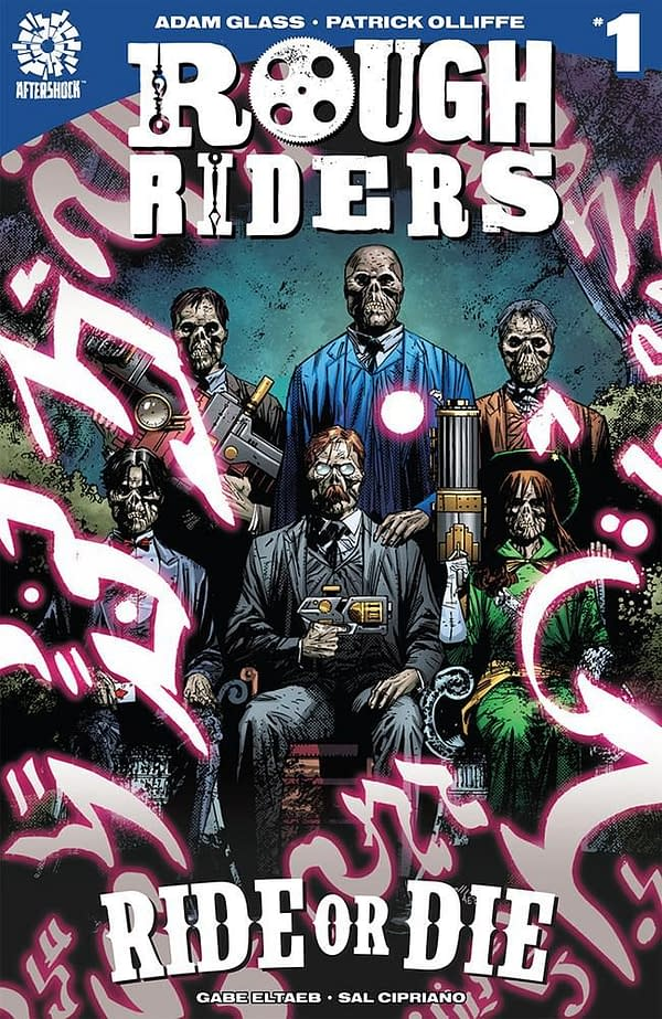 Rough Riders: Ride or Die #1 cover by Patrick Olliffe