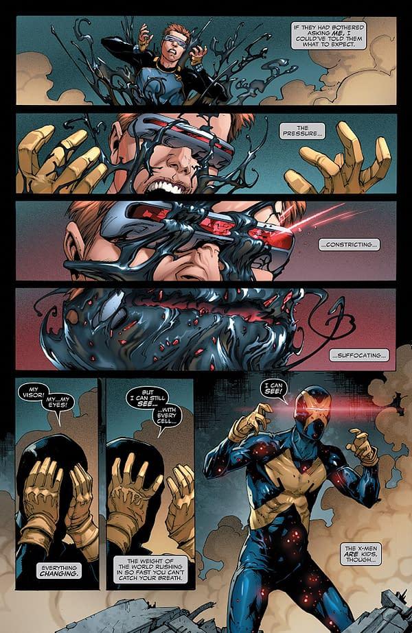 Venom #162 art by Edgar Salazar, Ario Anindito, and Dono Sanchez-Almara