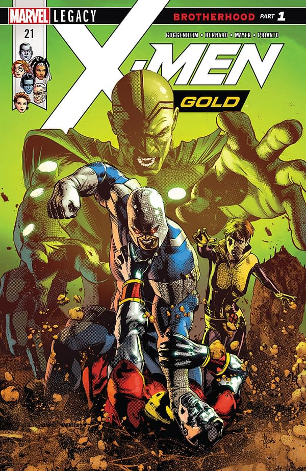 X-Men: Bland Design – A New Status Quo Emerges in X-Men Gold #21