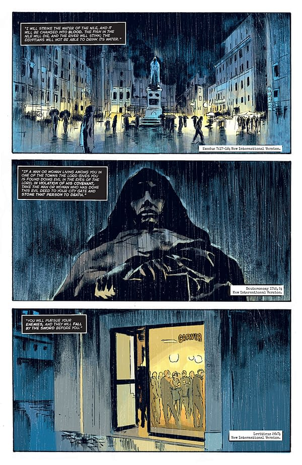 The Crow: Memento Mori #1 art by Werther Dell Edera and Giovanni Niro