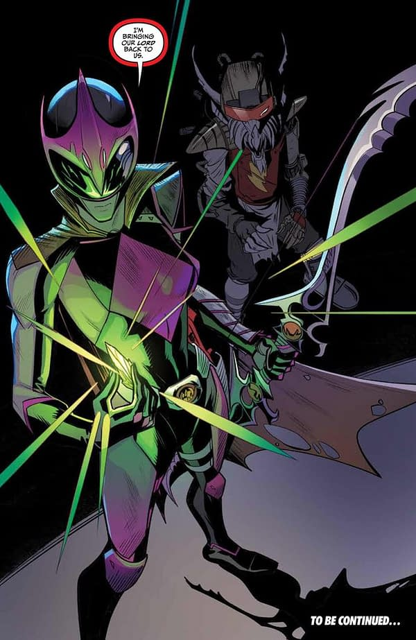 Breaking the Rules – Warning: the Biggest, Boldest Spoiler from Mighty Morphin Power Rangers #25