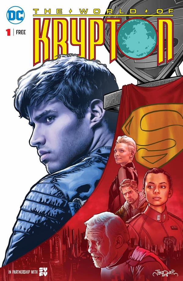 DC Gives Away Byrne and Mignola's 'World Of Krypton' in Comic Stores Tomorrow, Ahead of New Syfy TV Show
