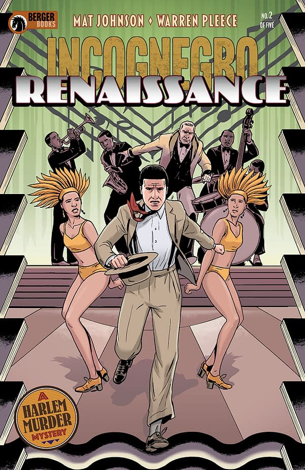 Incognegro: Renaissance #2 cover by Warren Pleece