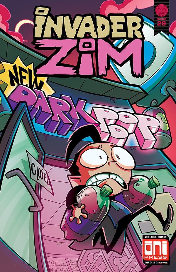 Invader Zim #29 cover by Maddie C