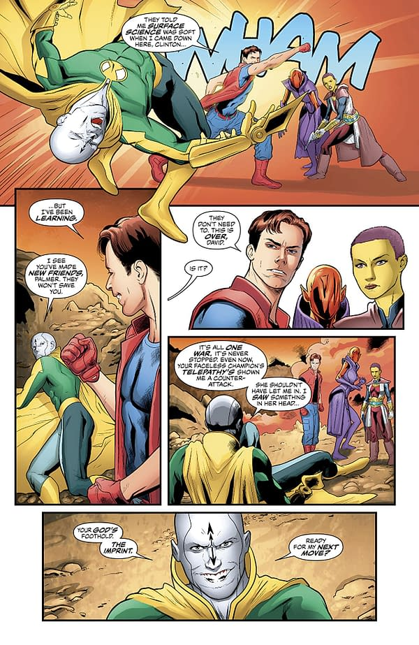 Justice League of America #27 art by Hugo Petrus and Hi-Fi