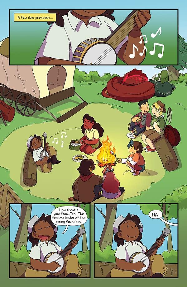 Lumberjanes #47 art by Ayme Sotuyo and Maarta Laiho