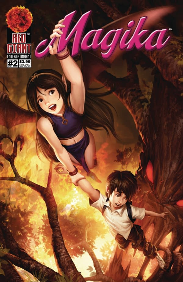 Giant-Sized Adventures of Markiplier: Red Giant Entertainment June 2018 Solicits