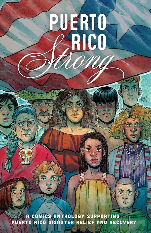 Puerto Rico Strong cover by Rosa Colon