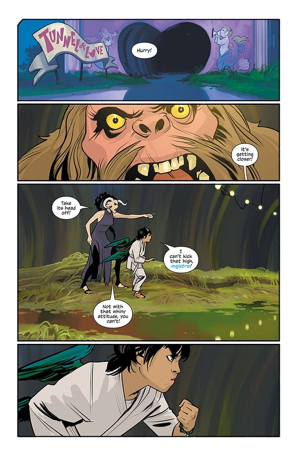 Saga #50 art by Fiona Staples