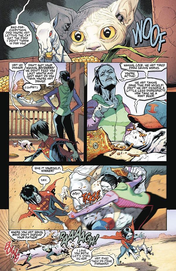 Superman #42 art by Patrick Gleason and Alejandro Sanchez