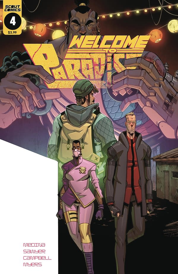 Survive the Dragon Apocalypse with Zinnober: Scout Comics June 2018 Solicits